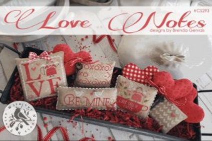 Love Notes- by With Thy Needle and Thread