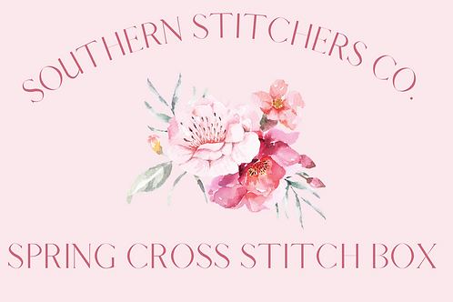 Spring Cross Stitch Box - Exclusive to Southern Stitchers Co.