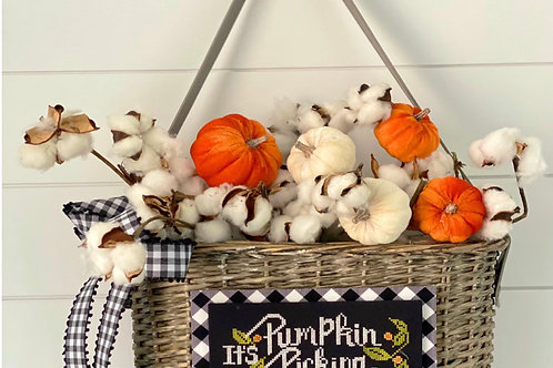 Pumpkin Picking Day - by Stitching With The Housewives