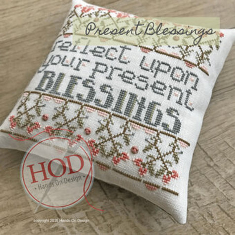 Present Blessings - by Hands on Design - Cross Stitch Pattern
