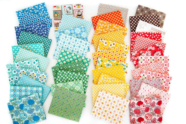 Flea Market by Lor Holt Fat Quarter Bundle
