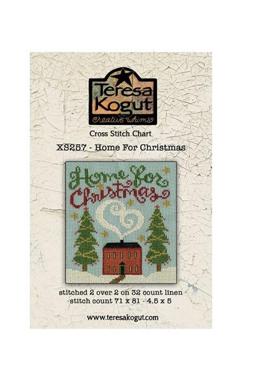 Home For Christmas XS257 - by Teresa Kogut