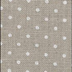 32 Count Petit Point Raw/White Belfast Linen Fabric 14.5x18