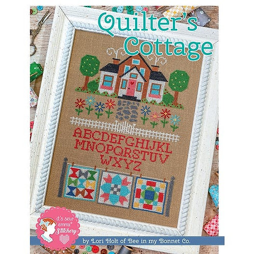 Quilter's Cottage - By Its Sew Emma - Cross Stitch Pattern
