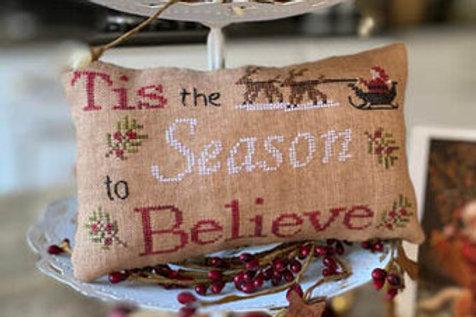 Tis the Season Pillow by Mani di Donna