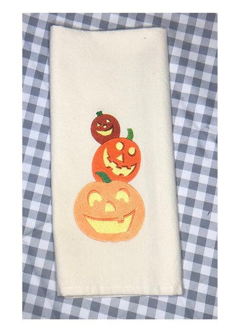 Jack - O - Lantern Trio Pile - Kitchen Towel