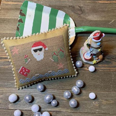 Beach Santa - by Needle Bling Designs