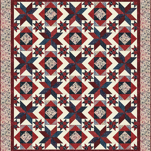 Stars of Honor - Quilt Pattern by Whimsical Workshop