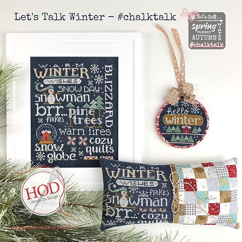 Let's Talk Winter by Hands On Design