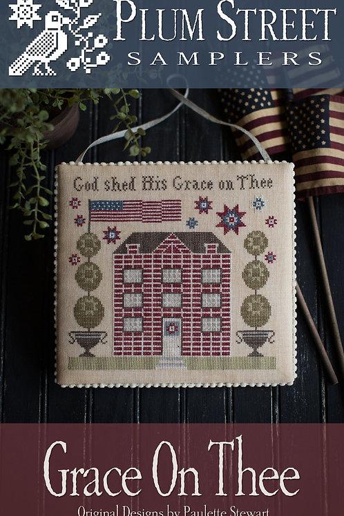 Grace On The - By Plum Street Samplers - Cross Stitch Pattern