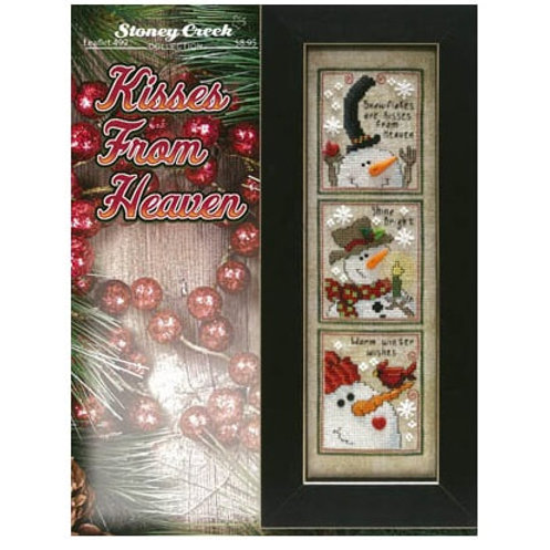 Kisses From Heaven  by Stoney Creek - Cross Stitch Pattern