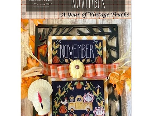 November - Truckin' Along Series by Stitching With the Housewives