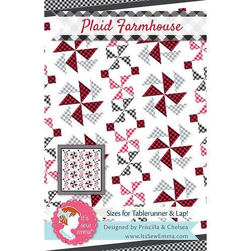 Plaid Farmhouse - by Its Sew Emma