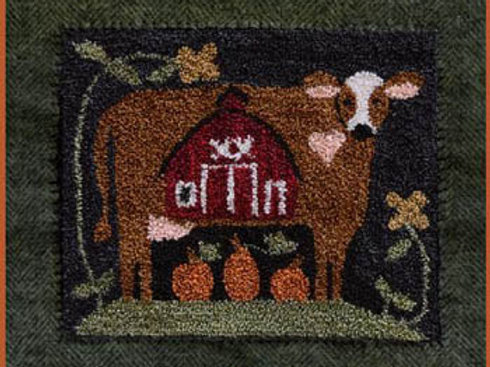 Down On The Farm - Little House Needleworks - Punch Needle Pattern