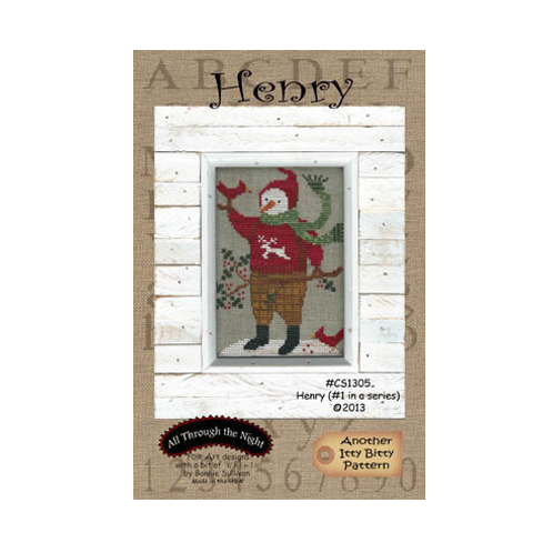 Henry - All Through The Night - Cross Stitch Pattern
