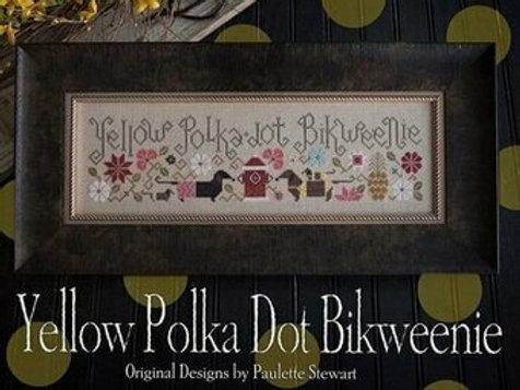 Yellow Polka Dot Bikweenie - Plum Street Samplers - Cross Stitch Pattern