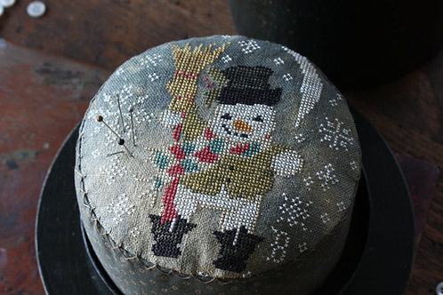 Frosty's Night Out - Blackbird Designs - Cross Stitch Pattern