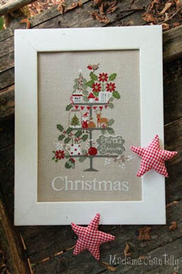 Celebrate Christmas - Madame Chantily - Cross Stitch Pattern