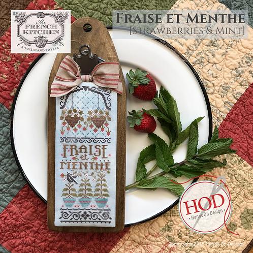 Fraise et Menthe (Stawberries & Mint) - by Hands On Design