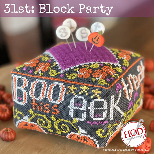 31st Block Party - by Hands On Design