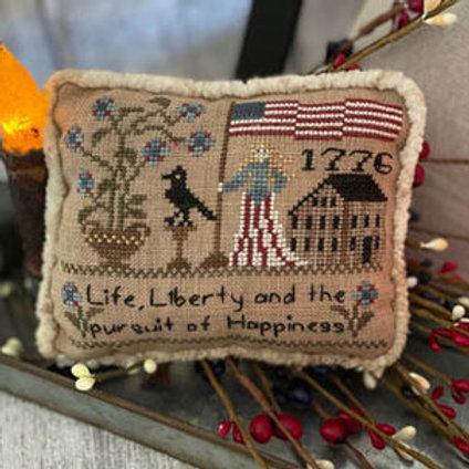 Flag of Liberty Pillow
