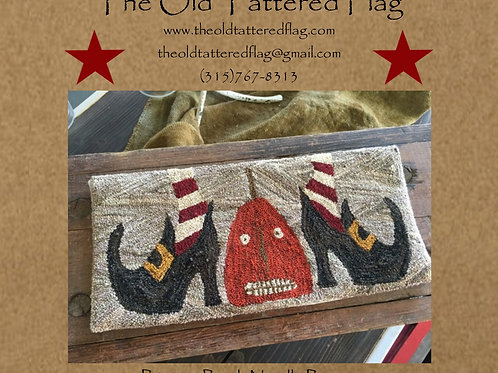 I Got You My Pretties - Punch Needle Pattern - by The Old Tattered Flag