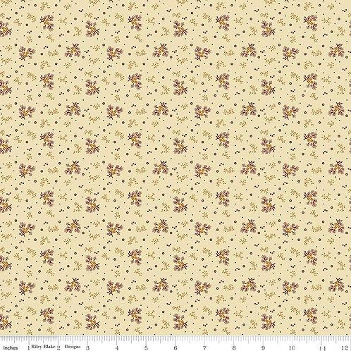 Bountiful Autumn Ditsy Cream by Stacy West / Riley Blake Blake SKU C10853-CREAM