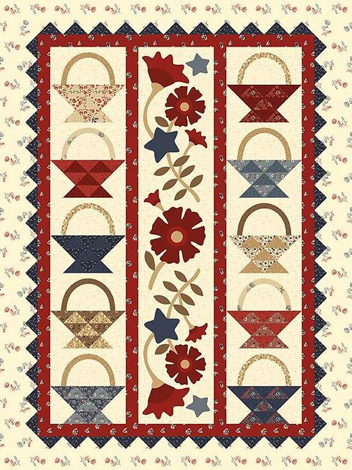 Buttermilk Basin Design Co. - Baskets of Glory Quilt Pattern