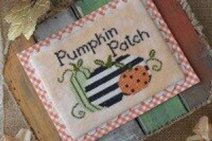 Pumpkin Patch by Annie Beez Folk Art - Cross Stitch Pattern