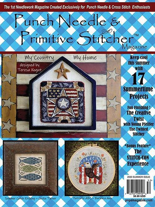Punch Needle & Primitive Stitching Magazine - SUMMER
