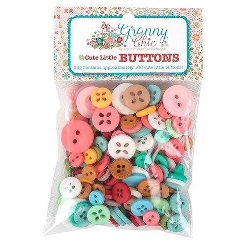 Granny Chic Cute Little Buttons Bag - Lori Holt