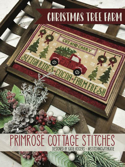 Christmas Tree Farm - by Primrose Cottage Stitches