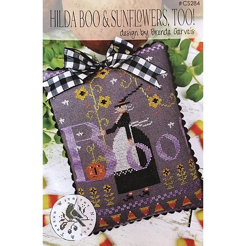 Hilda Boo & Sunflower Too - by With Thy Needle & Thread - Cross Stitch Pattern