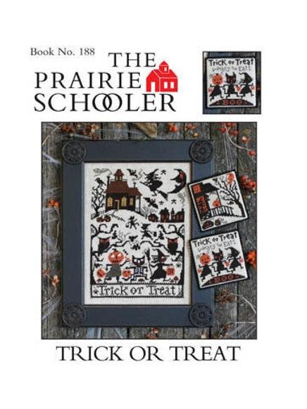 Trick or Treat - by The Prairie Schooler - Cross Stitch Pattern