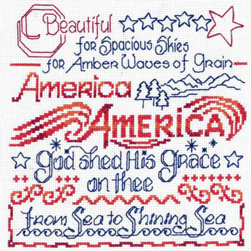 America The Beautiful - by Imaginating