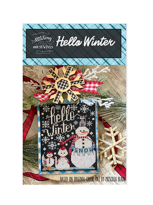 Hello Winter by Stitching with the Housewives