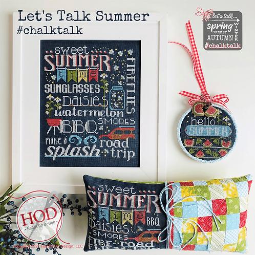 Let's Talk Summer - by Hands On Design