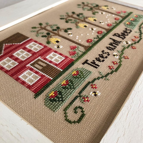 Trees and Bees - Country Cottage Needleworks