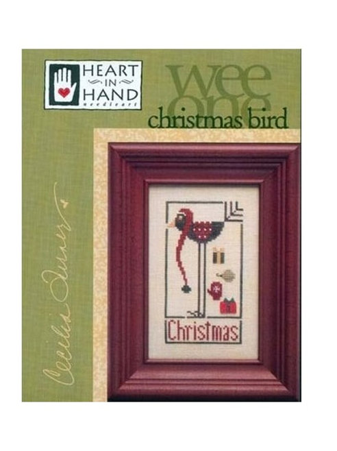 Wee One Christmas Bird - by Heart In Hand - Cross Stitch Pattern
