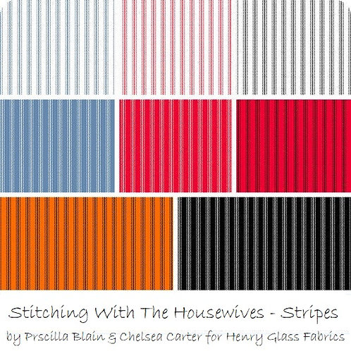 Stitching With The Housewives Stripes - by Stitching With The Housewives