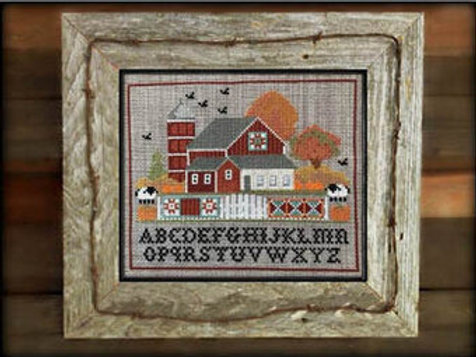 Legend of Fall - By Twin Peaks Primitives - Cross Stitch Pattern