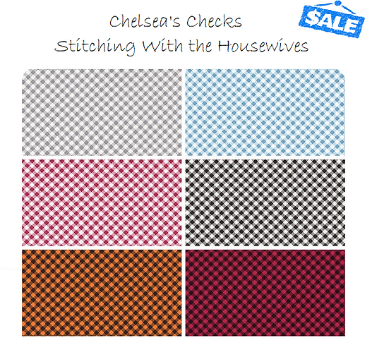 Chelsea's Checks - Yardage Bundle - Stitching With the Housewives