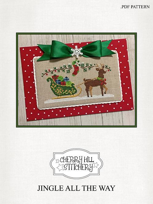 Jingle All The Way by Cherry Hill Stitchery