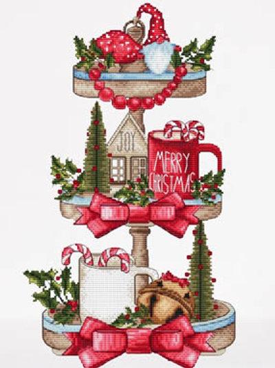 Christmas Tray - Les Petites Croix De Lucie