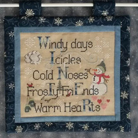 Winter Things - Cross Stitch Pattern - by Waxing Moon Designs