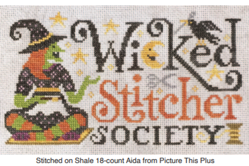 Wicked Stitcher Society - by Silver Creek Sampler