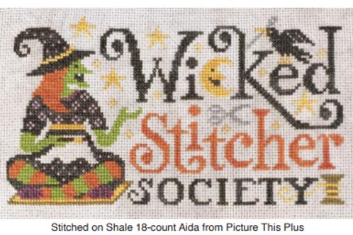Wicked Stitcher Society - by Silver Creek Sampler