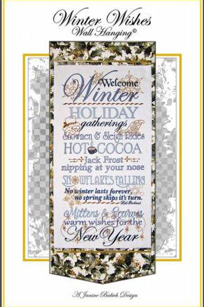 Winter Wishes - Machine Embroidery Design
