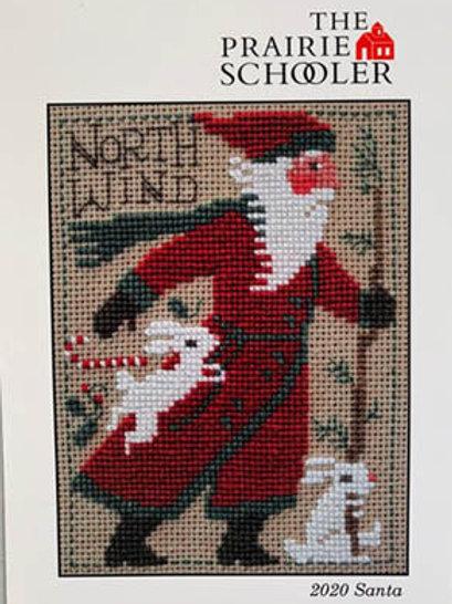 2020 -Schooler Santa - The Prairie Schooler - Cross Stitch Pattern