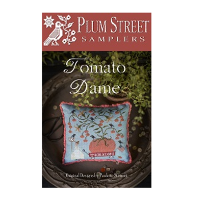 Tomato Dame - by Plum Street Samplers - Cross Stitch Pattern